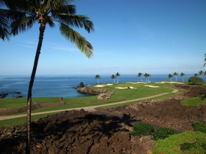Mike Bailey's view from his townhome at The Mauna Lani Point